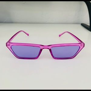 ASOS purple sunnies